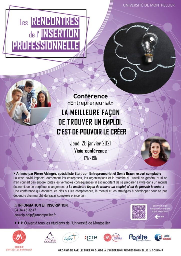 Conférence entrepreneuriat